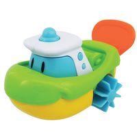 Brinquedo-de-Banho---Barquinho-Aqua-Zuum-Verde---Dican