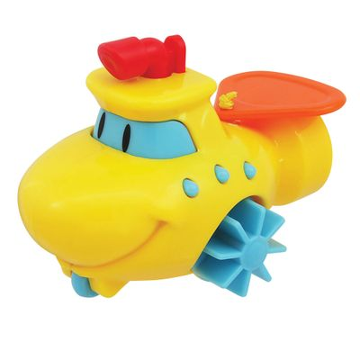 Brinquedo de Banho - Barquinho Aqua Zuum Amarelo - Dican