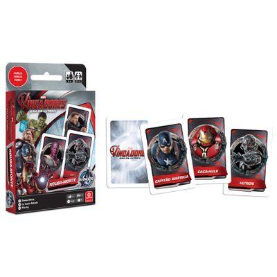 Jogo Rouba Monte - Marvel Vingadores - A Era de Ultron - Copag - Disney