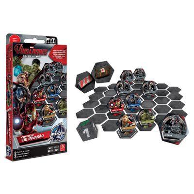 Jogo Controle de Invasão - Marvel Vingadores - A Era de Ultron - Copag