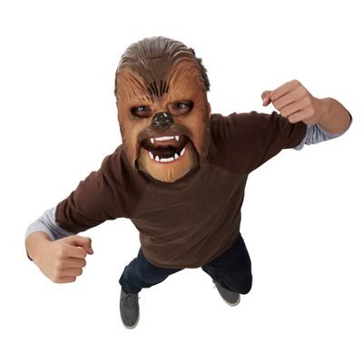 Máscara Eletrônica - Star Wars - Episódio VII - Chewbacca - Hasbro - Disney