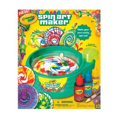 Fabrica de Artes - Spin Art Maker - Crayola