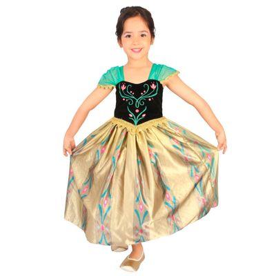Fantasia de Luxo - Disney Frozen - Anna - Baile no Castelo - Rubies