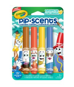 Canetinha-Perfumavel---Pip-Scents---Tropical-Vacations-4-Cores---Crayola