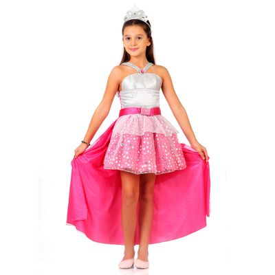 Fantasia de Luxo - Barbie Rock N Royals - Sulamericana - P