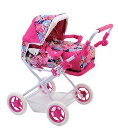 carrinho-de-boneca-deluxe-rosa-floral-new-toys