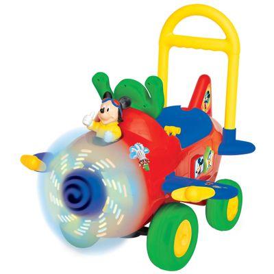 Primeiros Passos - Avião do Mickey Mouse - New Toys - Disney