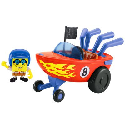 Hot Rod Boat Imaginext - Bob Esponja - Fisher-Price