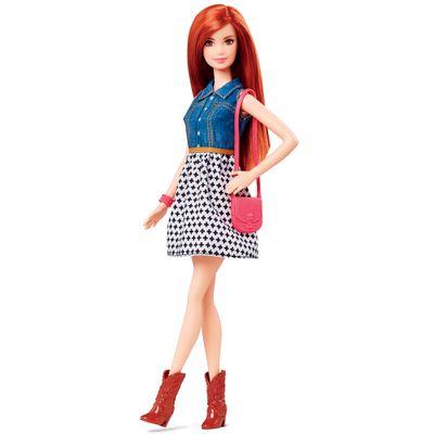 Boneca Barbie Fashionistas - Balada - Saia Branca - Mattel