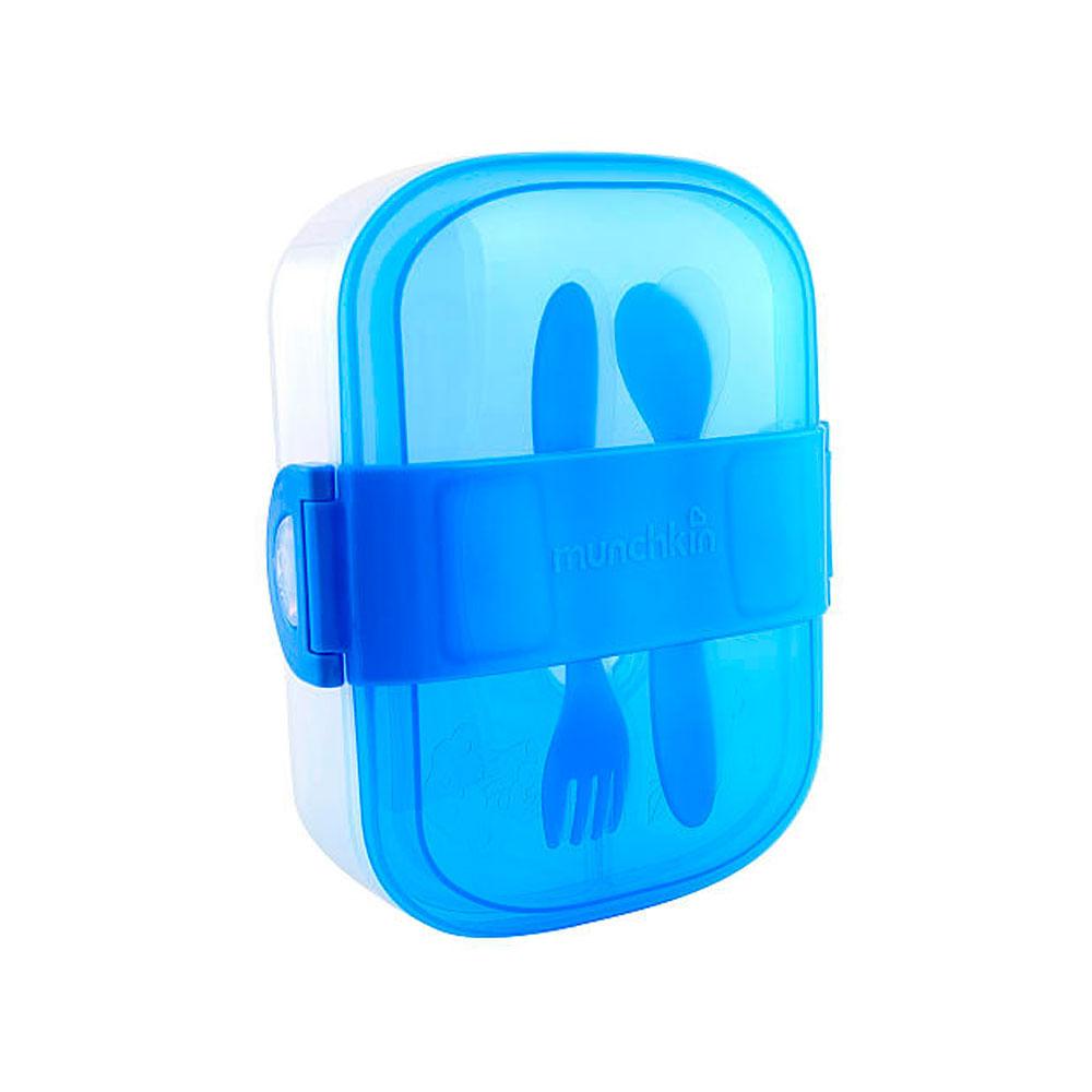 Conjunto de Alimentação - Azul - Munchkin
