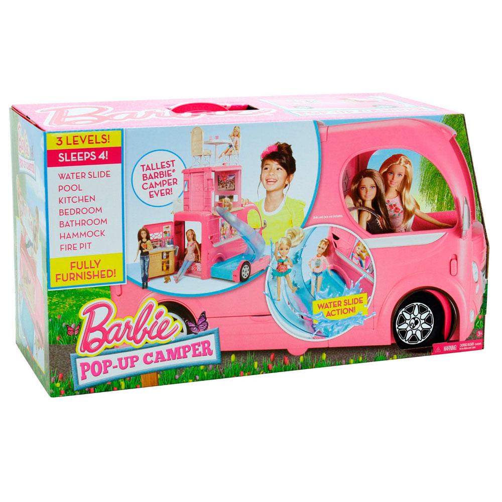Mega Trailer da Barbie - Mattel