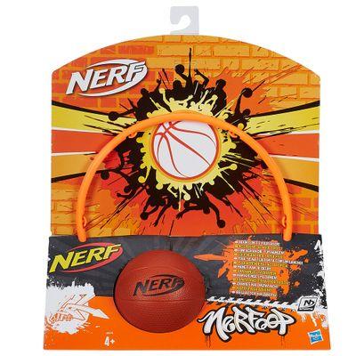 Tabela de Basquete com Encaixe para Portas - Nerf Sports - Laranja - Hasbro