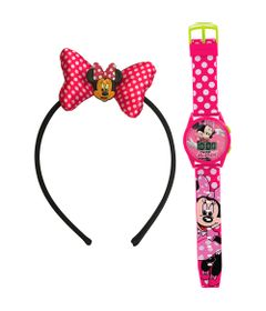 Conjunto-Minnie-Mouse---Kit-Meigo-Relogio-e-Tiara---Candide