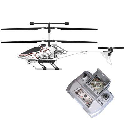 Helicóptero de Controle Remoto e Câmera - Silverlit Sky Eye - Branco - DTC