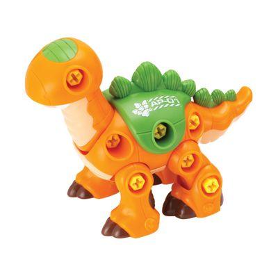 Dinossauro Monta e Desmonta - Estegossauro - Happy Kid