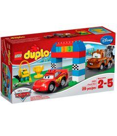 10600---LEGO-DUPLO----Disney-Pixar-Cars---Corrida-Classica