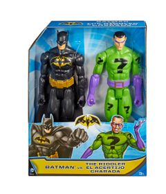 Playset---DC-Comics---Batman-VS-Charada---Mattel