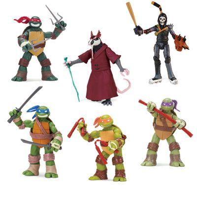 Figura-Basica---Tartarugas-Ninja---Pack-com-6---Multikids