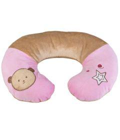 Protetor-de-Pescoco-Pequeno---Urso-Rosa---KaBaby