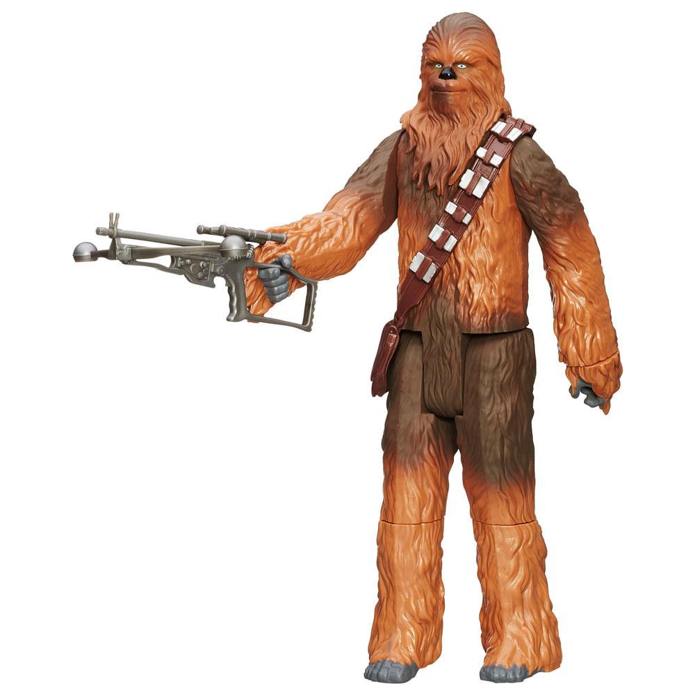 Boneco Articulado - 30 Cm - Star Wars Episódio VII - Chewbacca com Acessórios - Hasbro - Disney