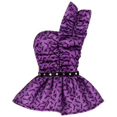 Roupinha para Boneca Barbie - Vestido Roxo - Mattel