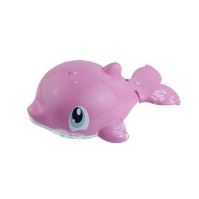Baleia Divertida para o Banho Pink - Happy Kid