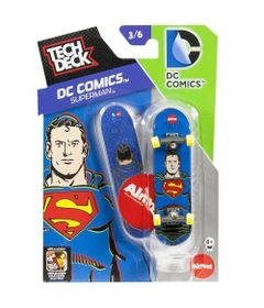 Skate-de-Dedo-Tech-Deck-DC-Comics-SuperMan-Multikids