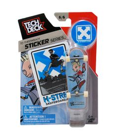 Skate-de-Dedo-Tech-Deck-H-Street-6-6-Sticker-Series-Multikids