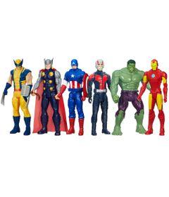 100110416-Kit-Bonecos-Marvel-Avengers-Titan-Hero-Series-30-cm-Wolverine-Thor-Capitao-America-Ant-Man-Hulk-e-Iron-Man-Hasbro