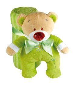 Pelucia---Ursinho-Flower-com-Manta-Verde---Buba
