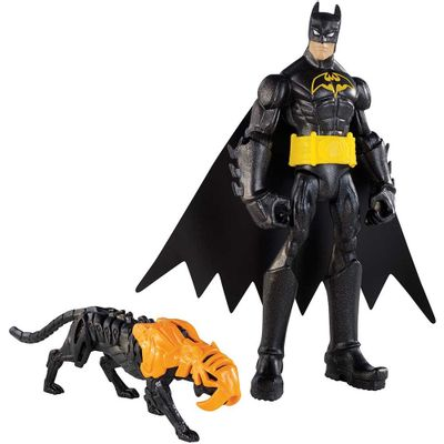 Boneco Batman - Power Attack - Tiger Blast Batman - Mattel