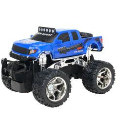 Carro-de-Controle-Remoto---Ford-F-150-Azul---1-24---27MHz---Yes-Toys