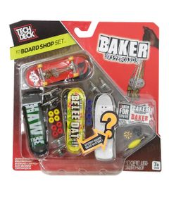Pack-de-Montagem-Tech-Deck----Baker-Skateboards---Multikids