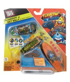 Pack-de-Montagem-Tech-Deck----Flameboy-VS-Wot-Willy---Multikids