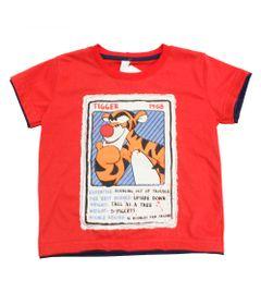 Camisa-Manga-Curta---Tigrao---Winnie-The-Pooh---Vermelho---Disney