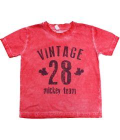 Camisa-Manga-Curta---Mickey---Vermelha---Disney