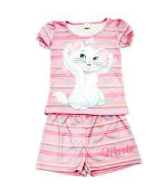 Pijama-Curto---Marie---Rosa---Disney