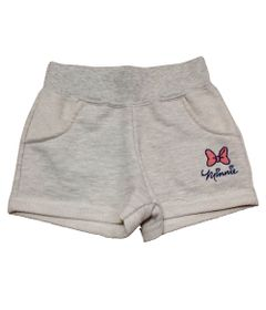 Short-com-Bordado---Minnie---Mescla---Disney