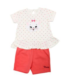 Conjunto-Blusa-Manga-Curta-e-Calca-Ciclista---Marie---Off-White-e-Rosa---Disney