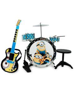 100114064-Kit-Pequeno-Musico-Bateria-Acustica-Guitarra-Eletronica-Minions-Toyng