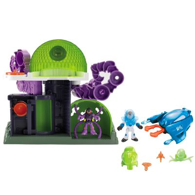 100114497-Kit-Imaginext-Espaco-Estacao-Alien-Ataque-Aereo-Fisher-Price