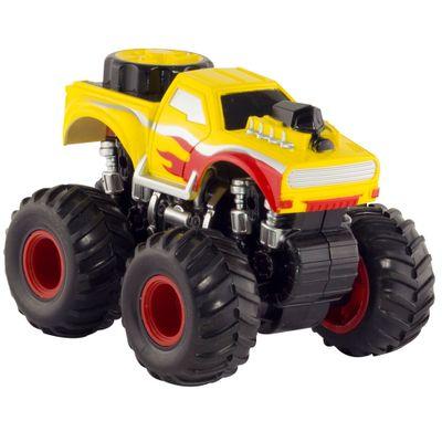 Carrinho Detonador - Big Foot - Amarelo - DTC