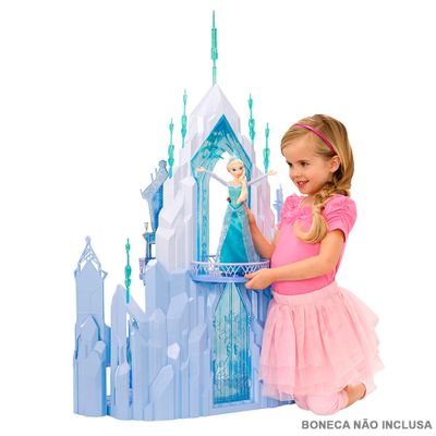 Castelo de Gelo - Disney Frozen - Mattel