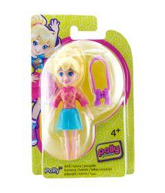 Boneca-Polly-Pocket---Sortimento-Basico---Polly-Saia-Azul-e-Binoculos---Mattel