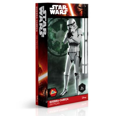 Quebra-Cabeça Star Wars - Stormtrooper - 200 Peças - Toyster - Disney