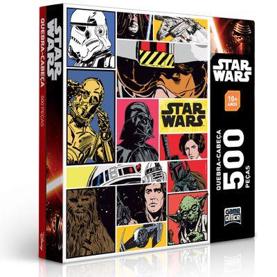 Quebra-Cabeça Star Wars - 500 Peças - Toyster - Disney