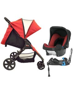 100115018-Travel-System-B-Agile-3-Base-Chili-Pepper-Britax