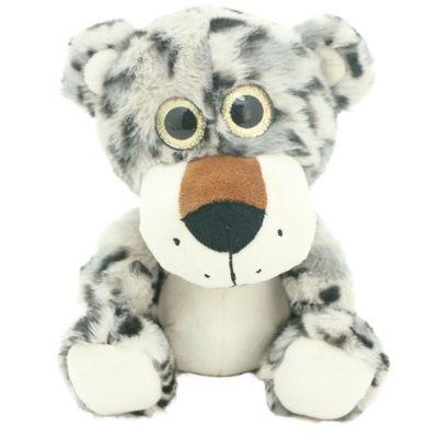 Pelúcia Animais Selvagens Visionários - Tigre Cinza - 20 cm - Bee Me Toys