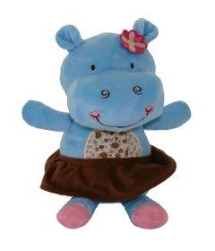Pelucia-Hipo-Feliz---Florido---25-cm---Bee-Me-Toys