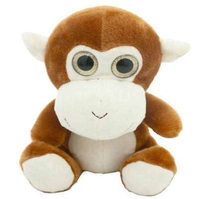 Pelúcia Animais Selvagens Visionários - Macaco - 20 cm - Bee Me Toys